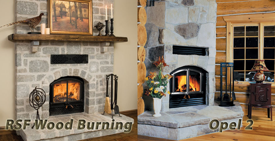 RSF Wood Burning Opel 2 Fireplace