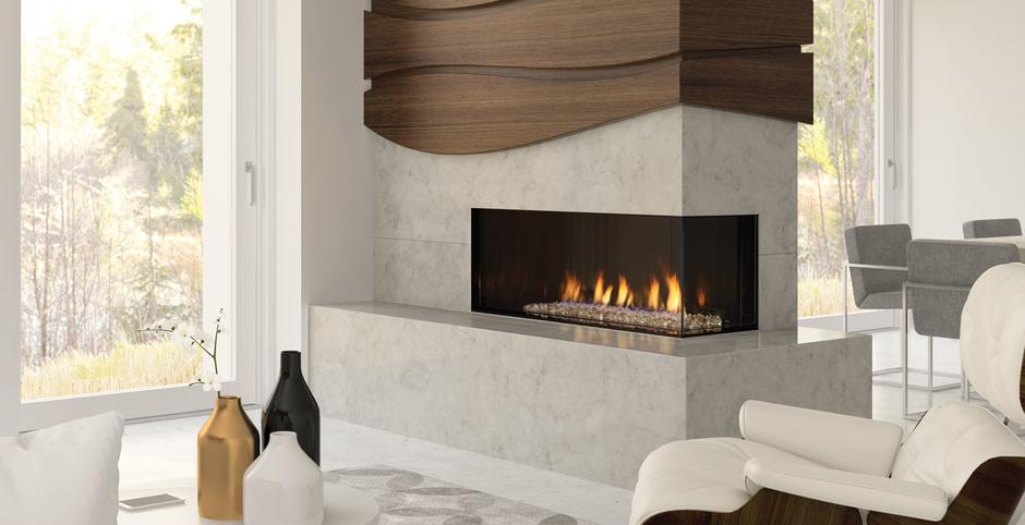 Regency City Series Chicago Corner 40 Gas Fireplaces